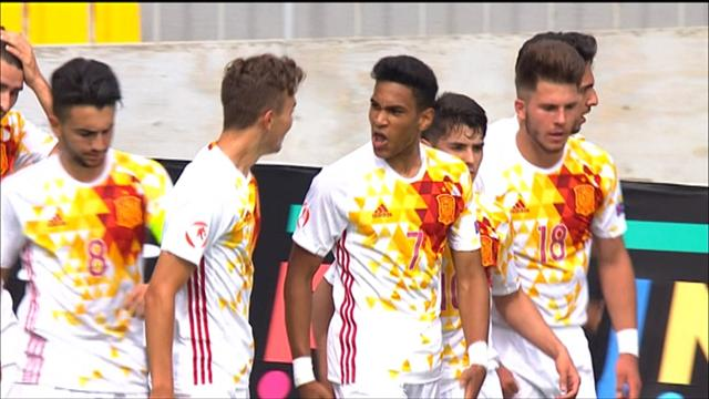 U17 highlights: Netherlands 0-2 Spain