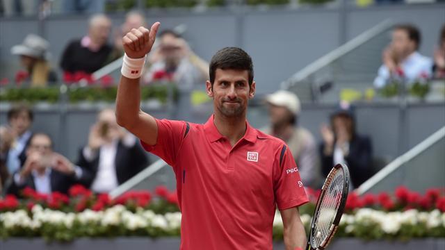 Le métronome Djokovic mate Raonic