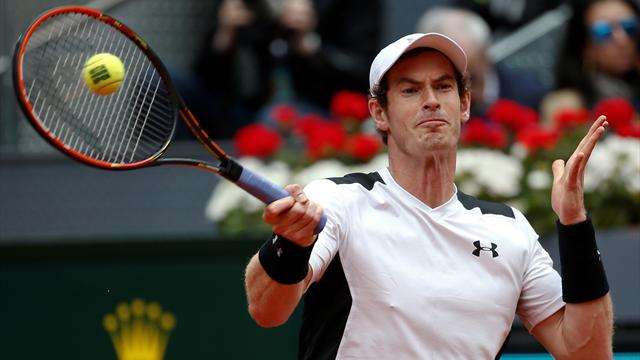 Murray beats Nadal despite awful troubles with serve in Madrid Masters