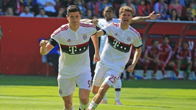 Le Bayern se console en rentrant dans l'histoire