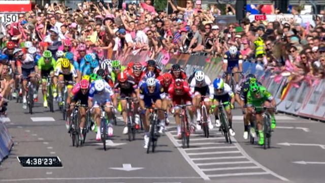Kittel dominates sprint to claim Giro stage 2