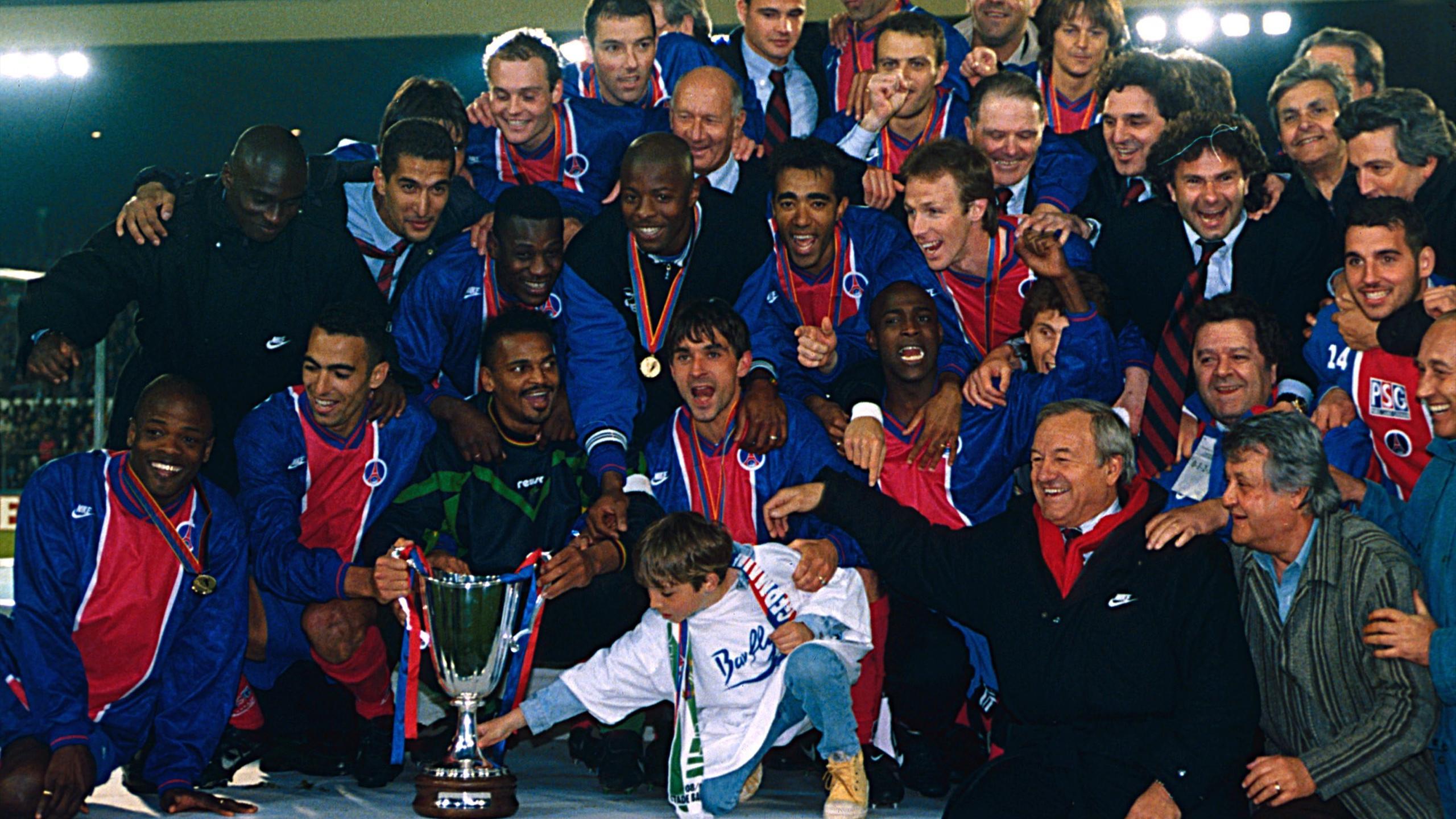 Il y a 20 ans, le sacre du PSG en Coupe des Coupes - Eurosport