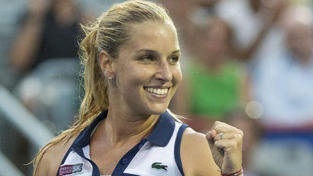 Dominika Cibulkova en finale face à Karolina Pliskova