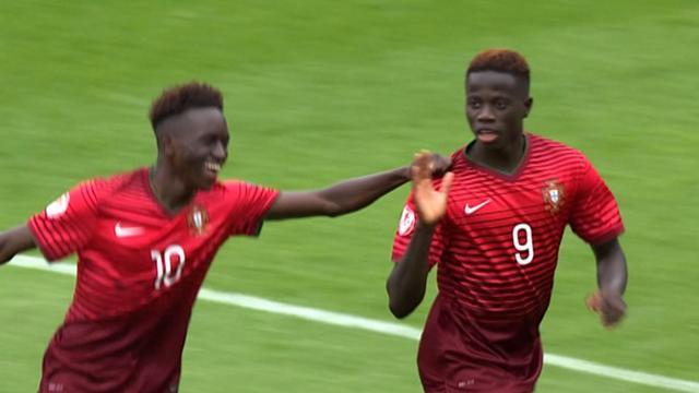 Euro U17 highlights: Portugal 2-0 Scotland