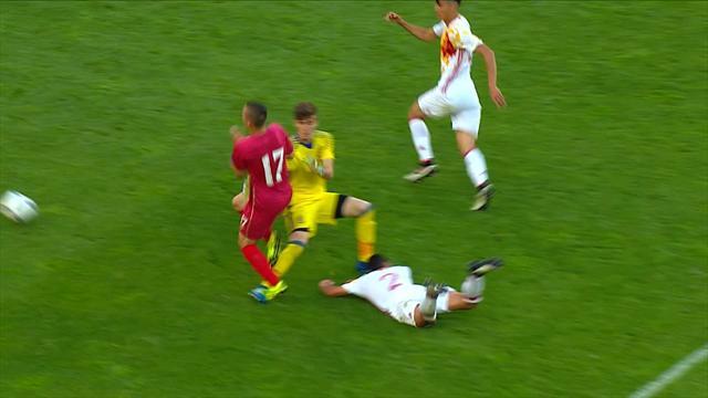 Joveljić equalises for Serbia against Spain