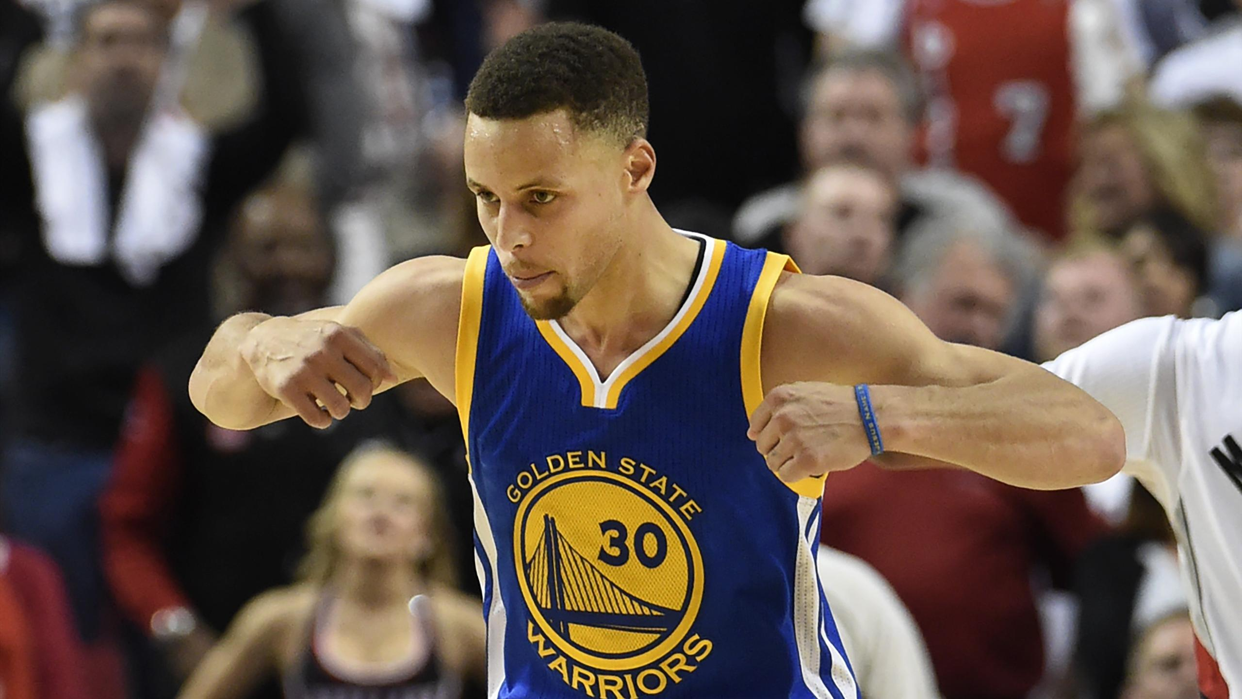Stephen Curry avec Golden State - 2016