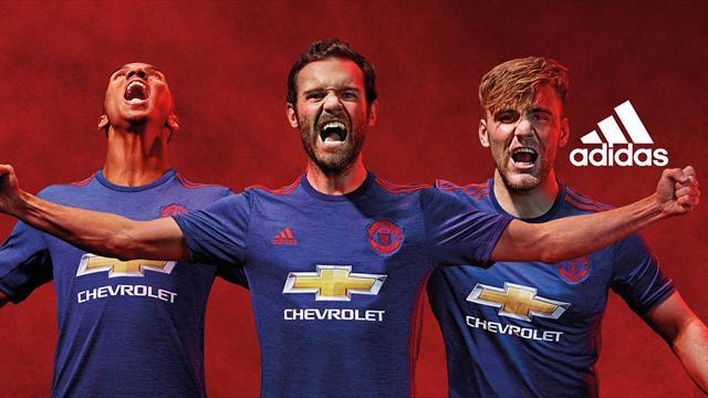 Maillot Extérieur Manchester United nouvelle