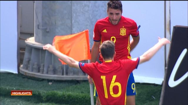 Highlights: Spain edge Italy in six-goal encounter at Euro U17