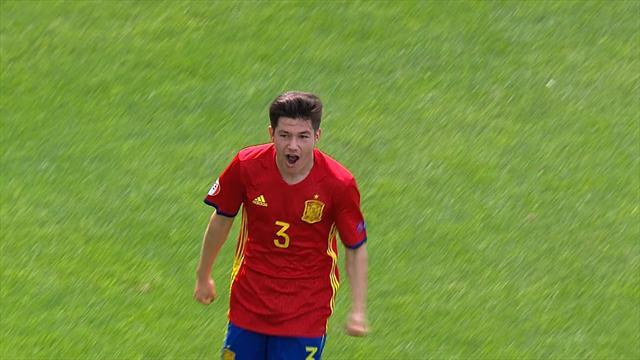 Fran - aka Francisco Garcia - scores magical goal against Italy