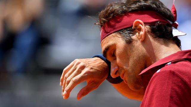 Федерер уступил четвертое место Надалю