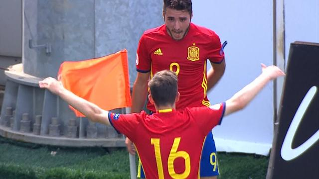 Spain finish top of their group