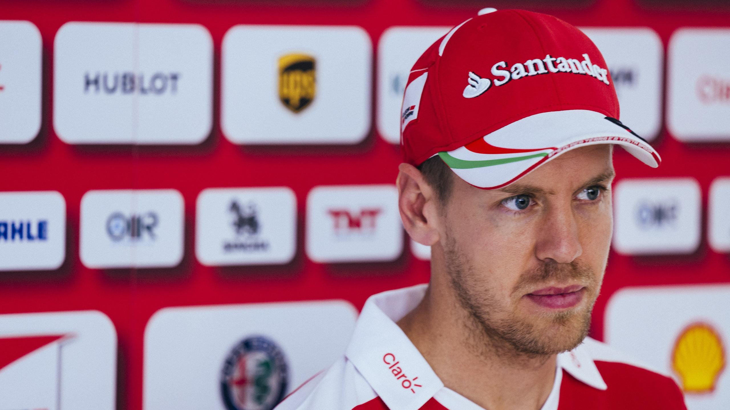 Sebastian Vettel (Ferrari) au Grand Prix d'Espagne 2016