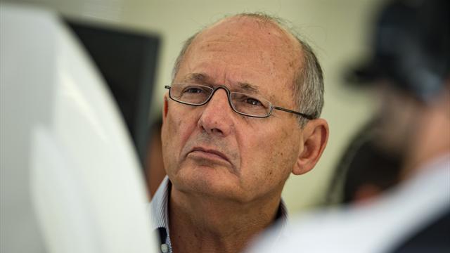 McLaren boss Dennis says he is not stepping down