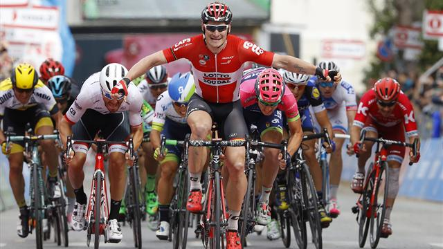 Greipel doubles up as Lotto Soudal purple patch continues