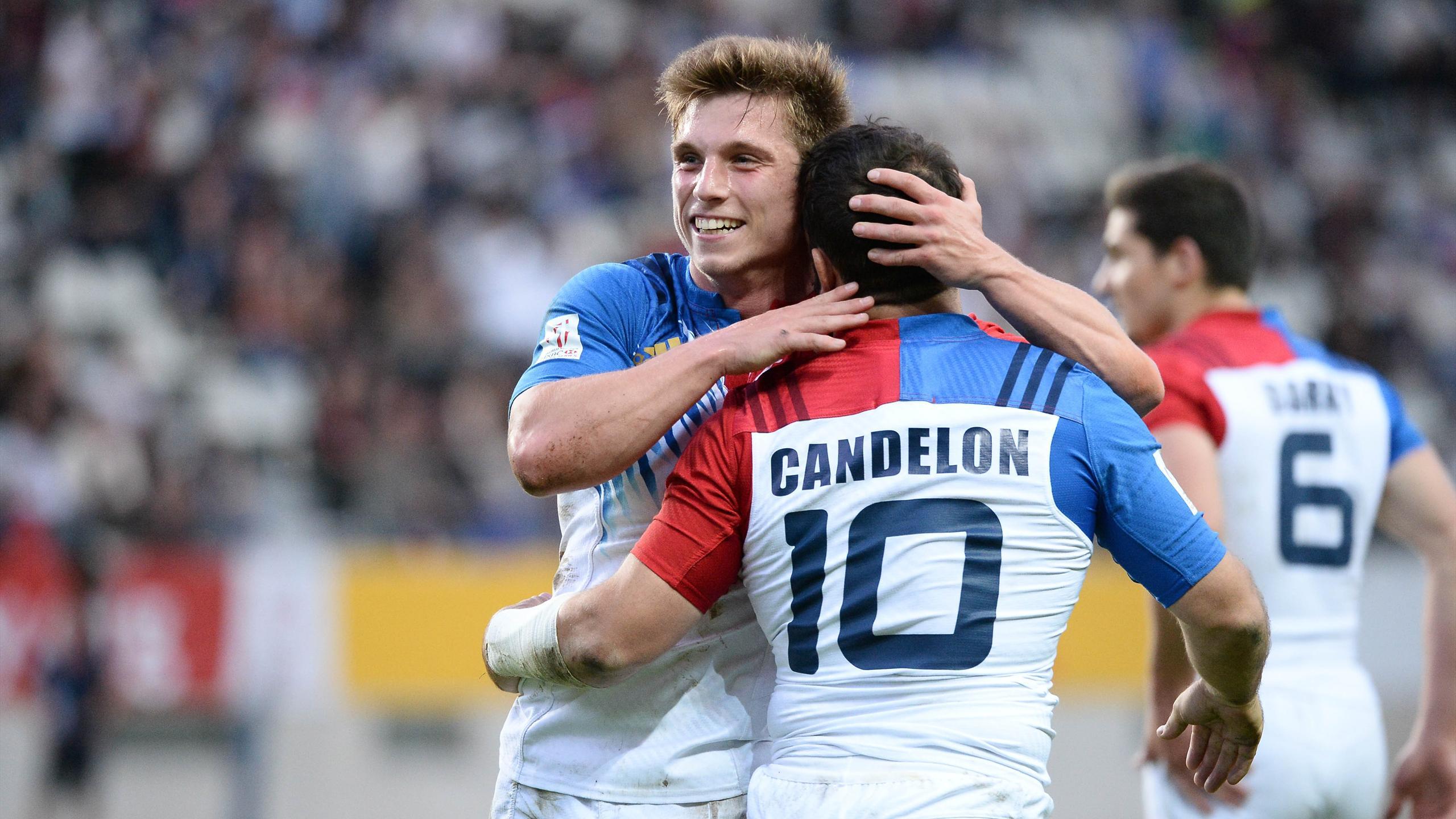 Stephen Parez et Julien Candelon (France 7) - 13 mai 2016