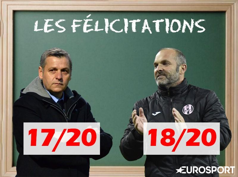 Félicitations pour Bruno Génésio et Pascal Dupraz