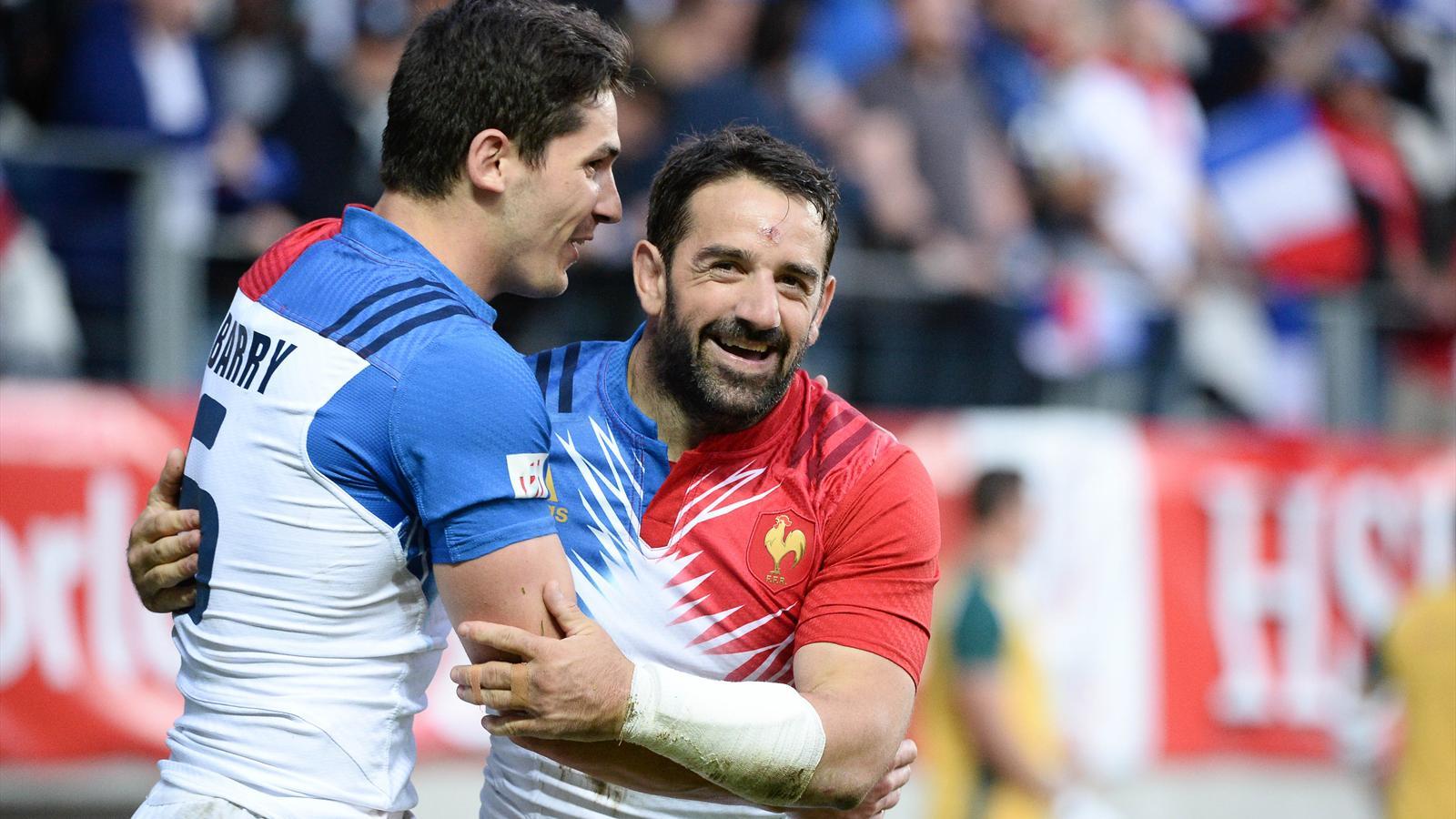Julien Candelon et Steeve Barry (France 7) - 13 mai 2016