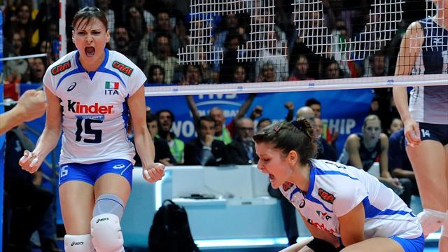 Preolimpico volley: Italia altro passo verso Rio