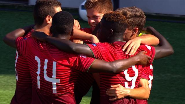 Portugal destroy Austria to reach semi-finals