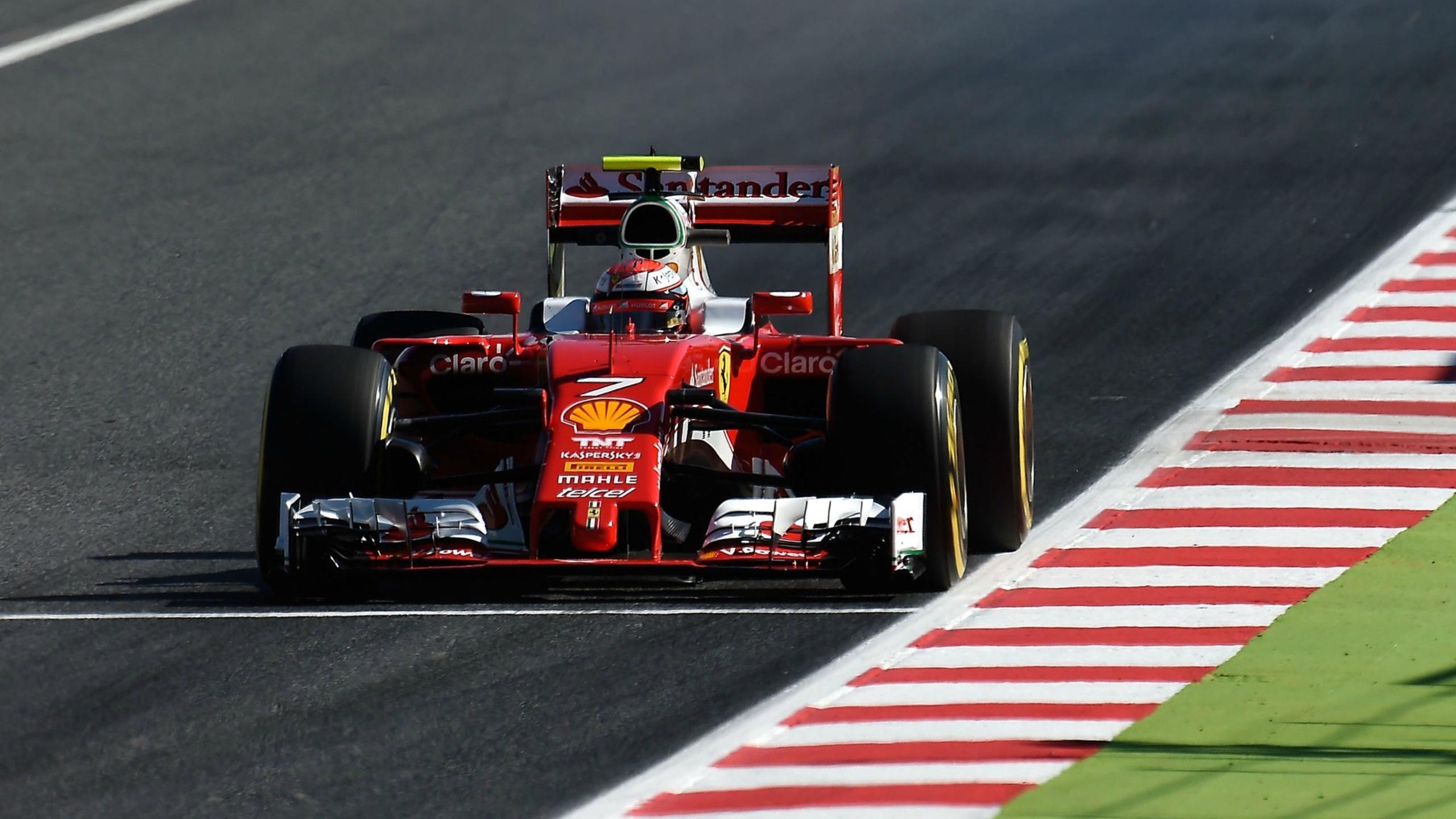 Kimi Räikkönen (Ferrari) au Grand Prix d'Espagne 2016