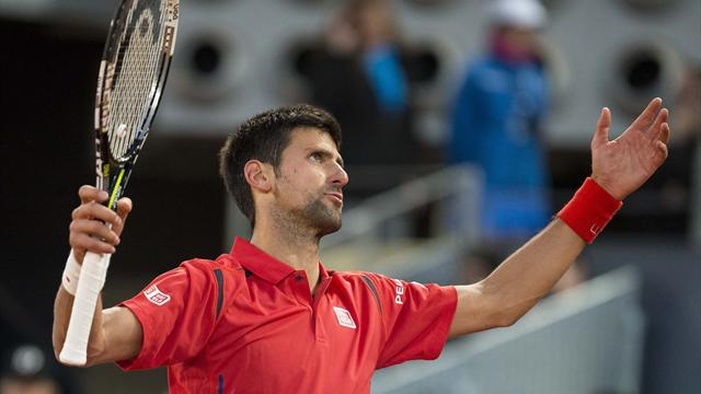 Quand Djokovic se blesse… tout seul