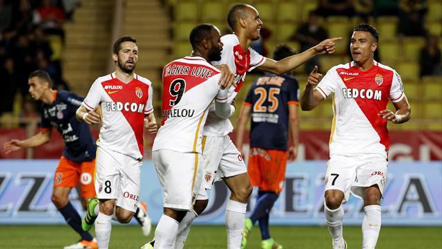 Monaco reste sur le podium, Nice et Lille en Ligue Europa