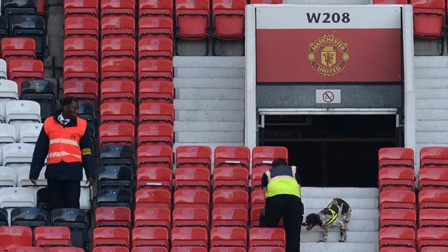 Le faux explosif à l'origine du report de Manchester – Bournemouth oublié lors d'un exercice
