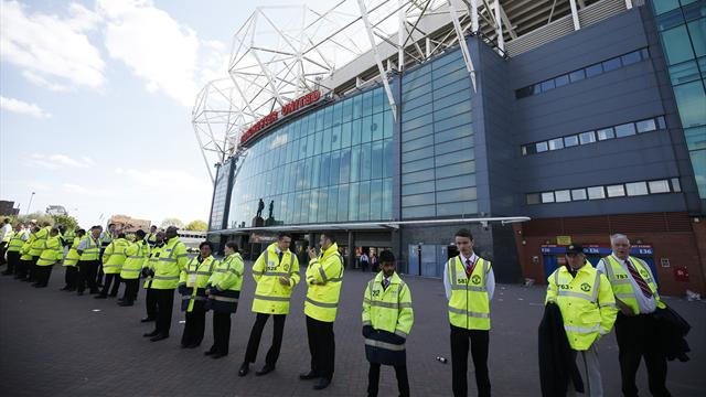 Controlled explosion at Old Trafford after Man Utd v Bournemouth abandoned