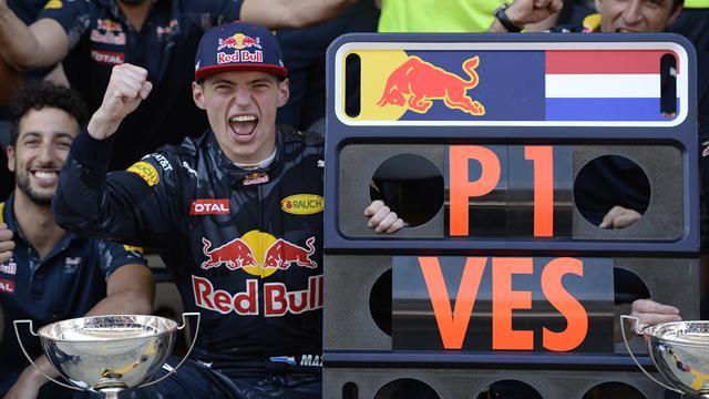 """Verstappen : """"C'est une énorme surprise, je visais le podium"""""""