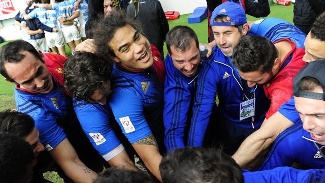 La 3e journée au cœur des Bleus: un stade en folie pour le podium français