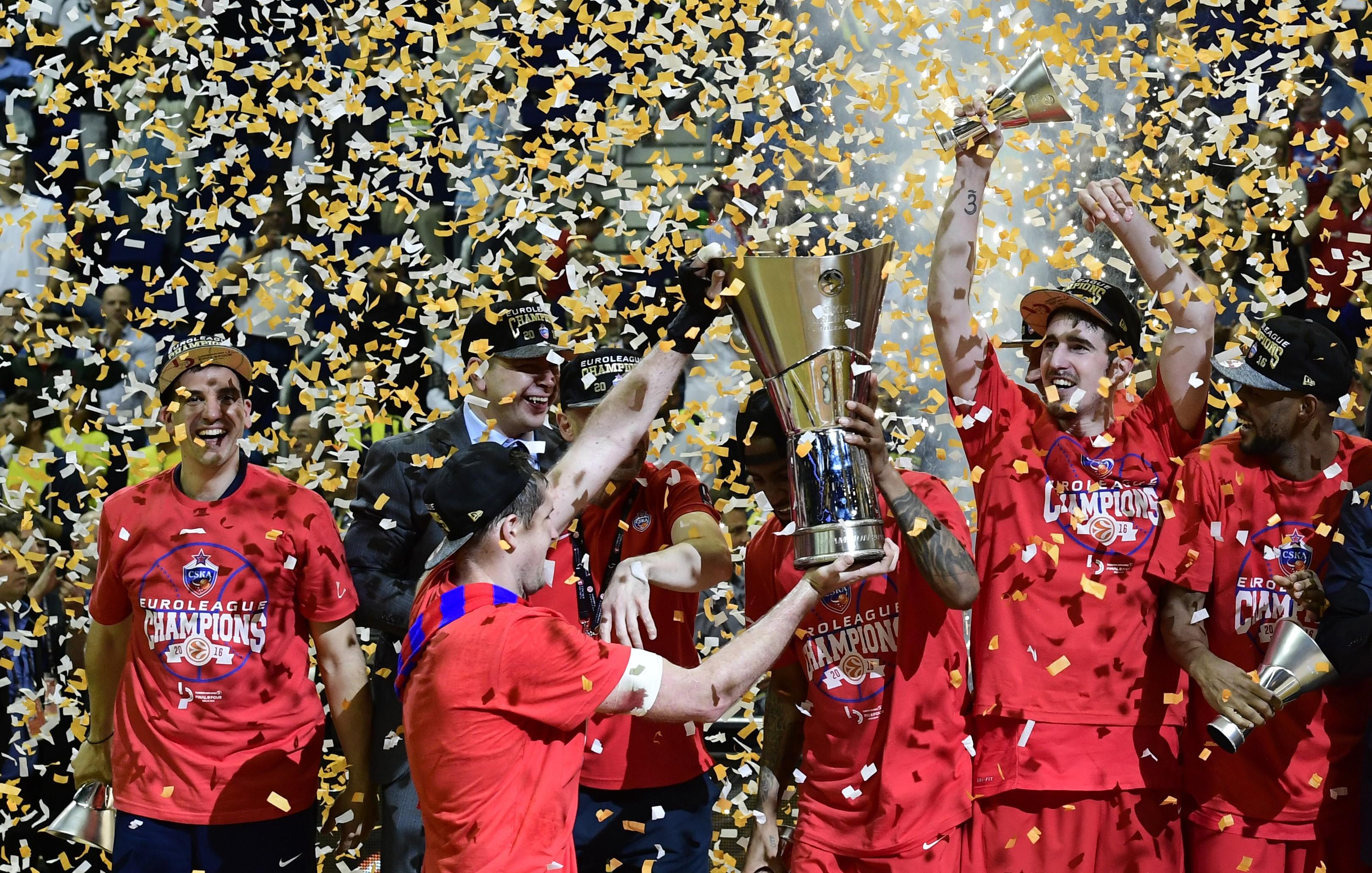 Nando De Colo sacré champion en Euroligue avec le CSKA Moscou - 2016