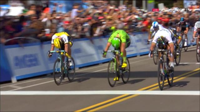Giro di California: Peter Sagan vince la 1a tappa e indossa la maglia di leader