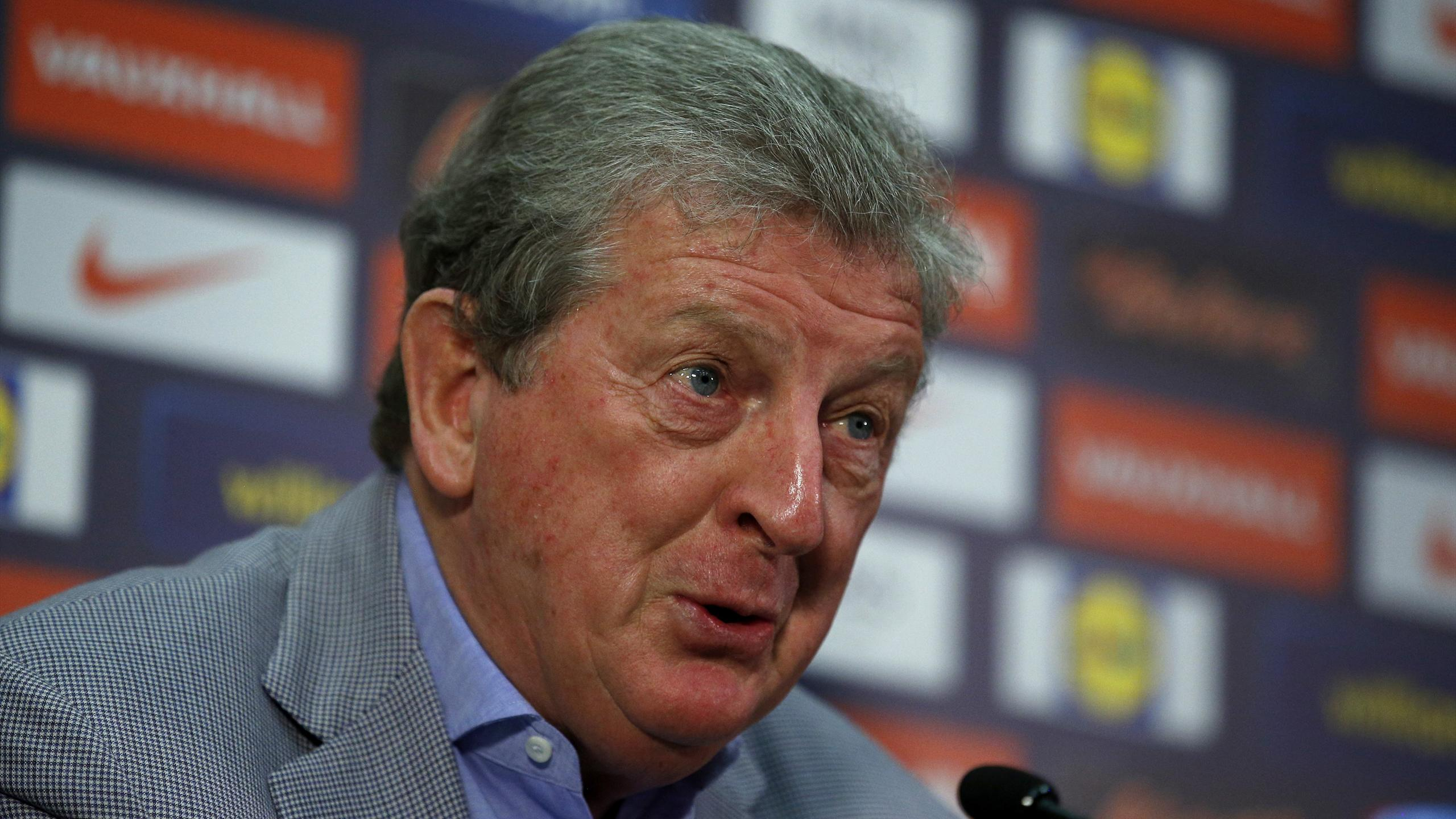 England manager Roy Hodgson during the press conference