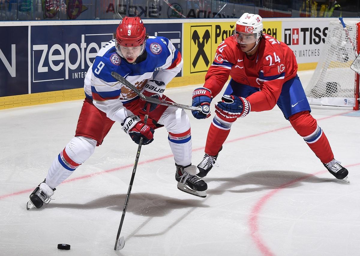 Артемий Панарин (Россия), Андреас Мартинсен (Норвегия)