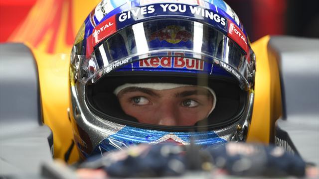 Verstappen restera chez Red Bull jusqu'en 2019