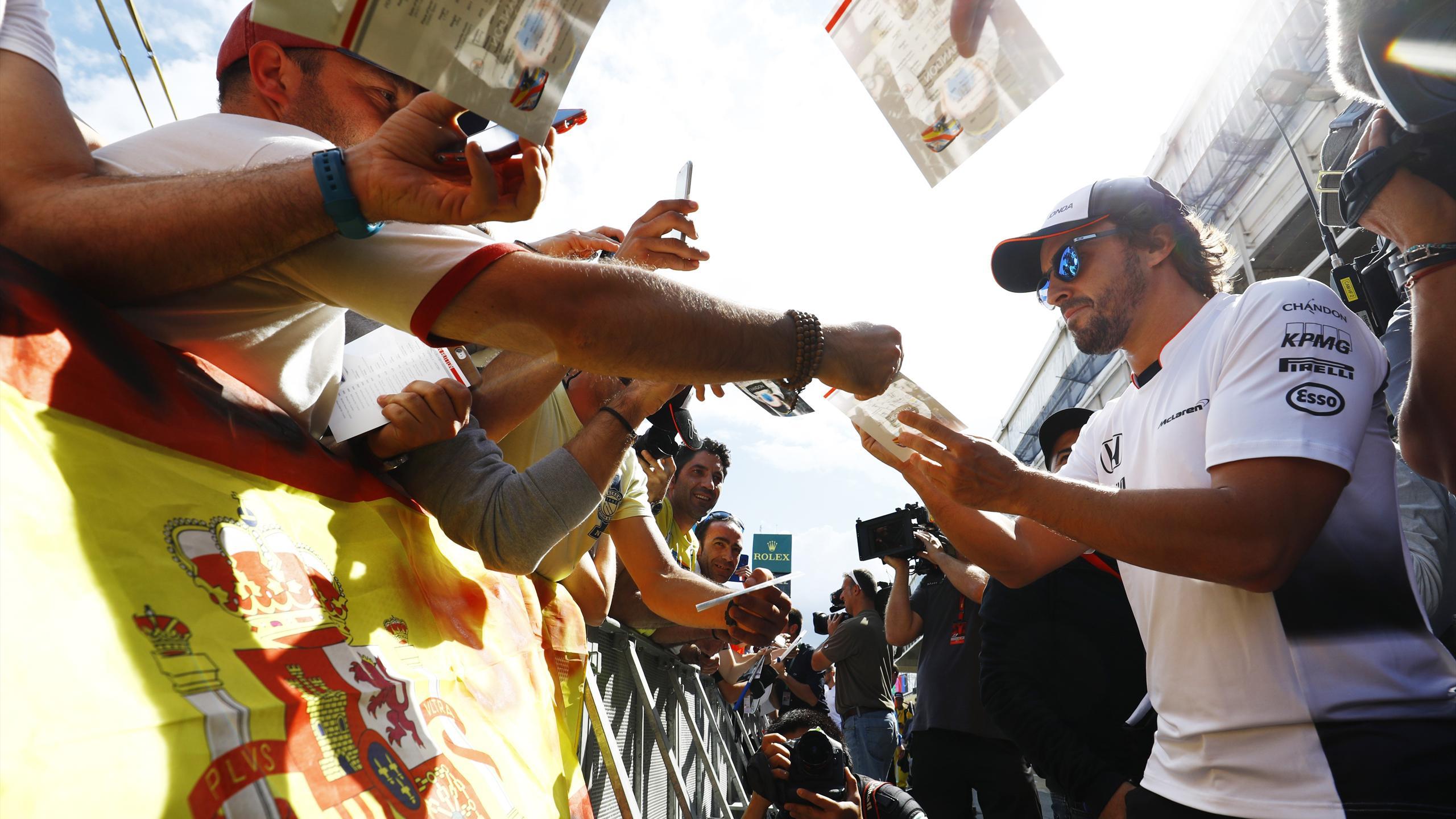 Fernando Alonso (McLaren) au Grand Prix d'Espagne 2016