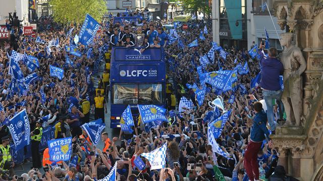 Marée humaine à Leicester pour fêter le titre