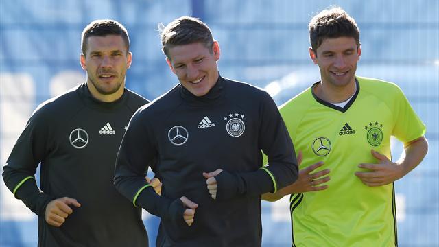Germany name injured Schweinsteiger in Euro 2016 squad, Podolski makes cut