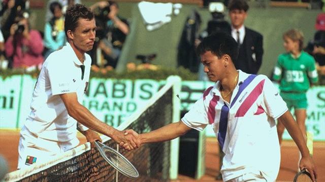 """Chang : """"Je n'oublierai jamais ce que m'a dit Lendl droit dans les yeux"""""""
