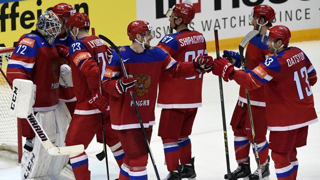 Россия вышла в полуфинал