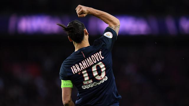 Ibrahimovic bids farewell to PSG with French Cup win