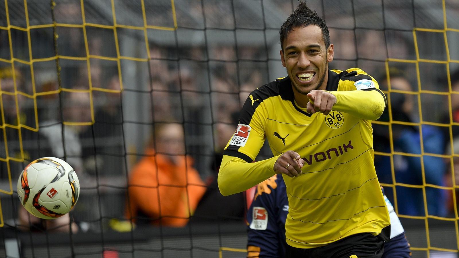 Borussia Dortmund striker Pierre Emerick Aubameyang dampens Real