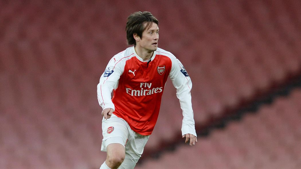 official photos 936d0 3921b Tomas Rosicky named in Czech Republic preliminary squad ...