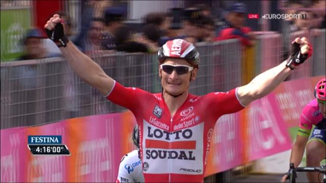 Giro: Greipel sprintet zum Sieg auf der 12. Etappe
