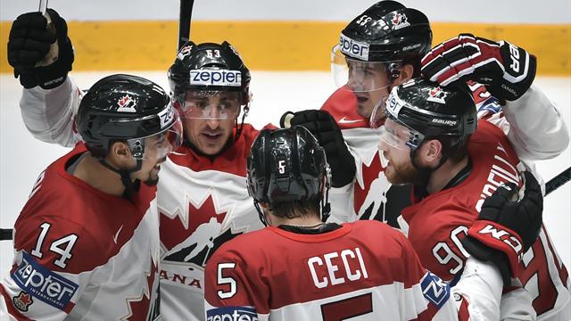 Канада разгромила Финляндию и вышла в полуфинал