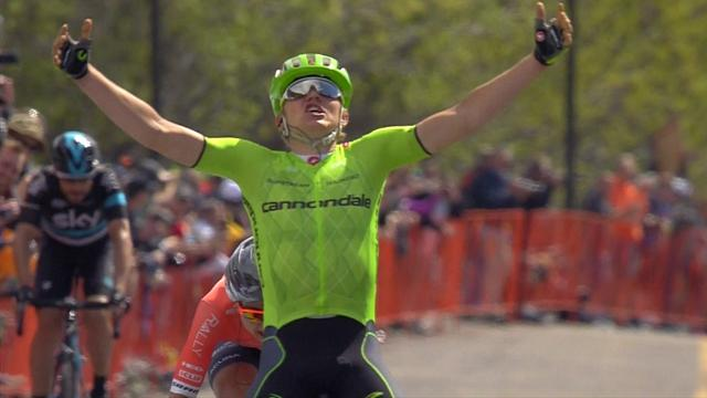 Skujins wins stage five of Tour of California after breakaway