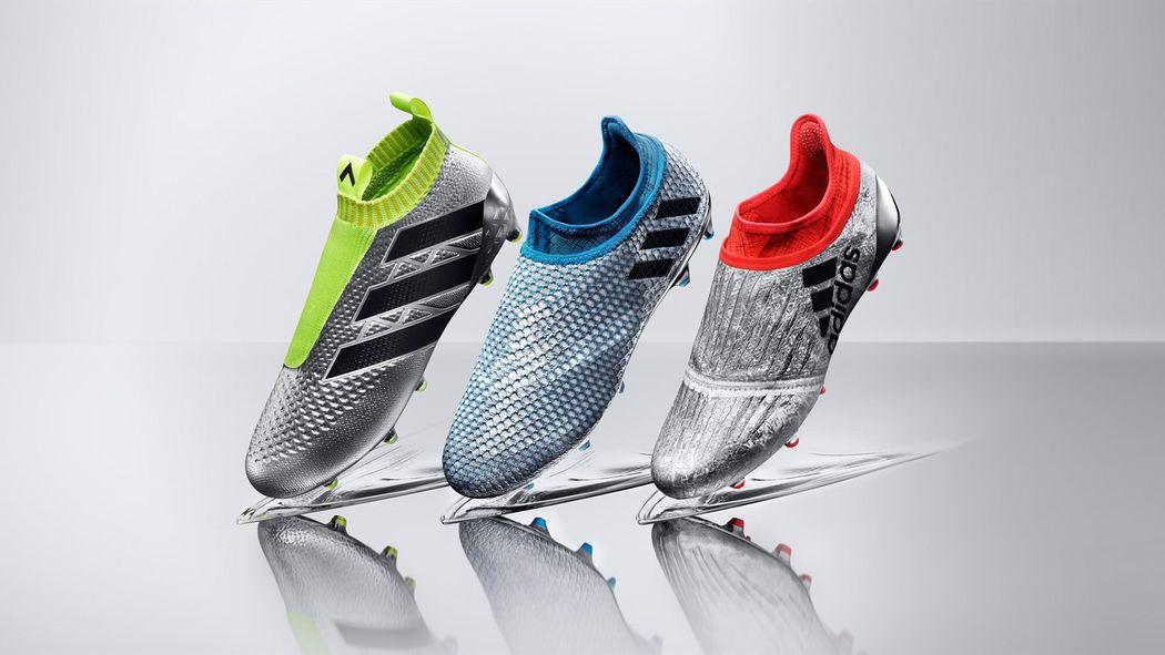 outlet store 71a97 9ed80 Adidas présente les nouvelles chaussures de Lionel Messi, Gareth Bale et  Paul Pogba - Economie - Eurosport