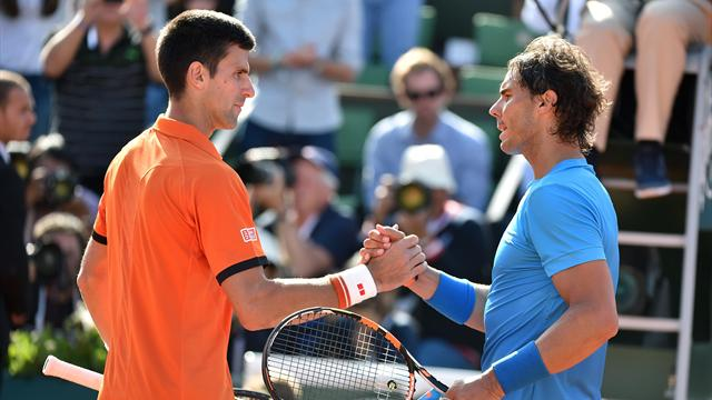 """Nadal : """"La rivalité avec Djokovic nous a fait mal"""""""