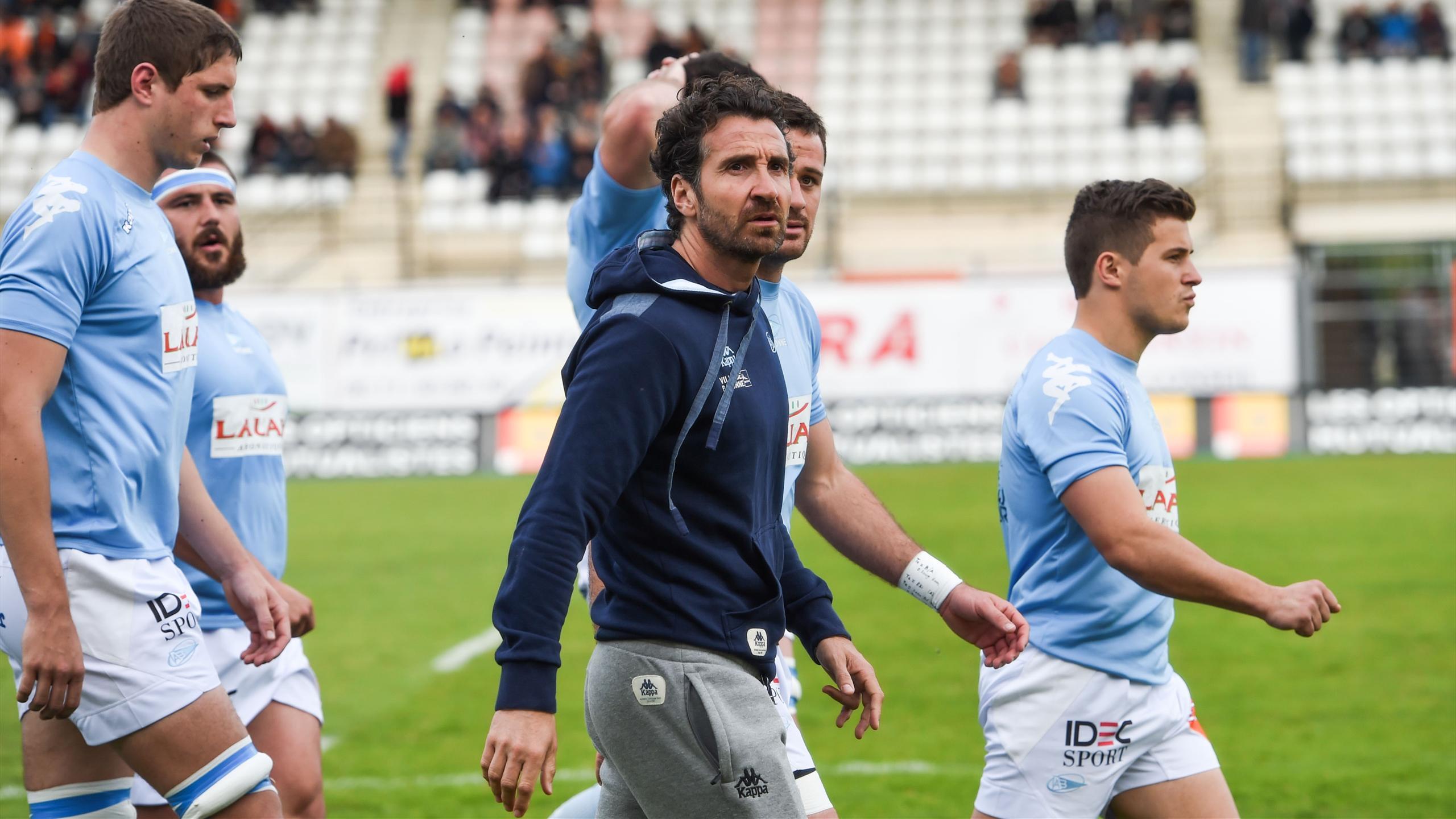 Vincent Etcheto, entraîneur de Bayonne