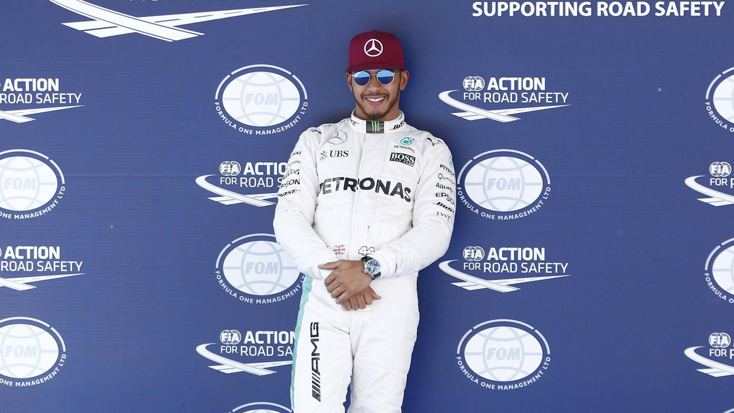 Lewis Hamilton (Mercedes) au Grand Prix d'Espagne 2016